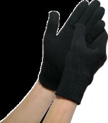 LuxMe Kosteuttavat Geelikäsineet L-XL Musta 1 pari