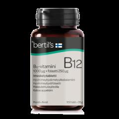 bertils B12-vit. + Folaatti 100 kpl