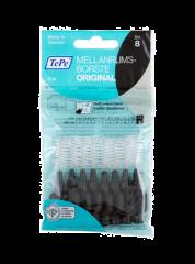 TePe 1,5 musta hammasväliharja 8 kpl