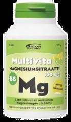 MULTIVITA MAGN.SITR+B6 LIME-SITR. 150MG 90 PURUTABL