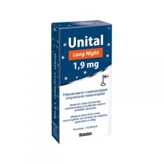 Unital Long Night 1,9 mg 30 tabl