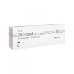 Zinkosal 100 mg/g voide 20 g