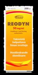 REODYN 50 mg/ml oraaliliuos 200 ml